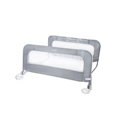 Double Safety Bedrail Grey