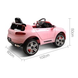Rigo Kids Ride On Car  - Pink