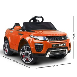 Rigo Kids Ride On Car Range Rover Inspired Electric 12V Toys Orange