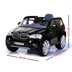 Kid's Licensed BMW X-5 Ride-On-Car Electric 6V Battery MP3 Function