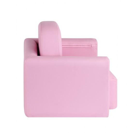 Artiss Kids Covertible Armchair - Pink