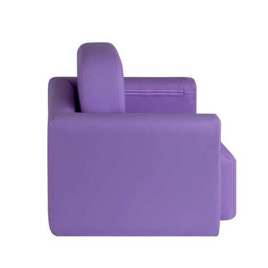 Artiss Kids Covertible Armchair - Purple