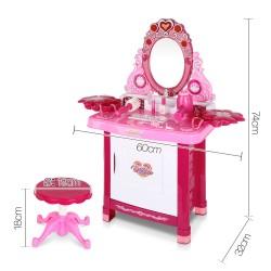 Keezi 30 Piece Kids Dressing Table Set - Pink