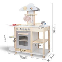 Keezi Kids Cooking Set - White