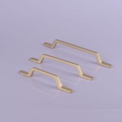 Gold Black Zinc Kitchen Cabinet Handles Drawer Bar Handle Pull 96mm 128mm 160mm