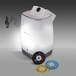 Sight & Sound Projector with Bluetooth
