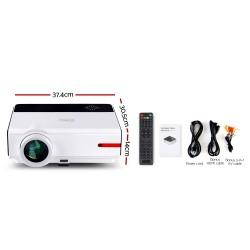 Devanti Smart HD Android Video Projector 5000 Lumen Home Theatre WiFi Bluetooth