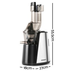 Cold Press Slow Juicer - Silver