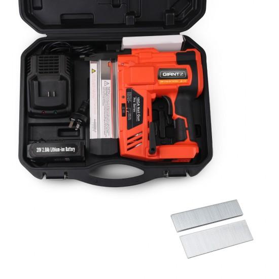 Giantz Cordless Nail Gun with a Lithium Battery
