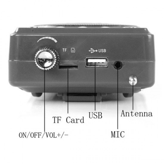 Portable Bluetooth Voice Amplifier/Loud Speaker