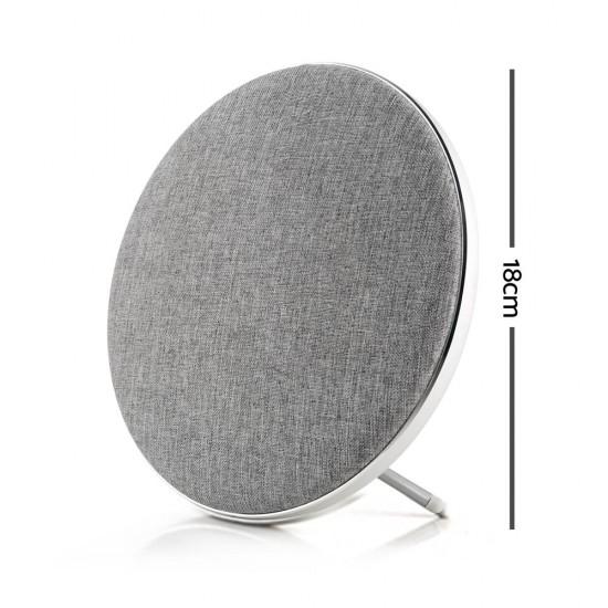 Jonter Desktop Wireless Bluetooth Speaker - Silver