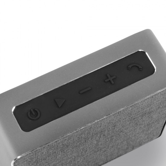 Jonter Mini Desktop Wireless Bluetooth Speaker - Grey