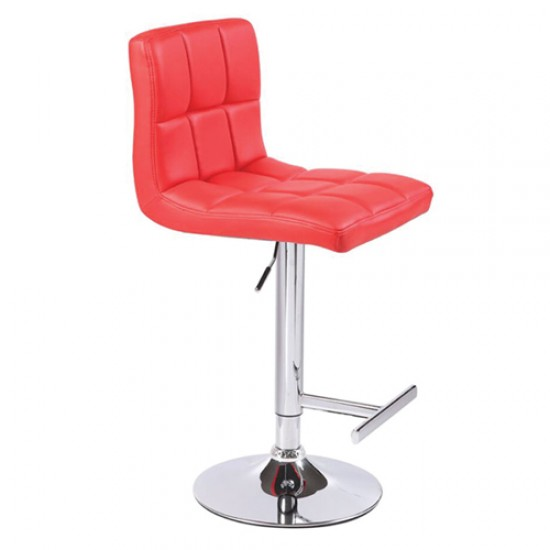2 x MAX BARSTOOL RED