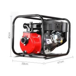 Giantz 2inch High Flow Water Pump - Black & Red