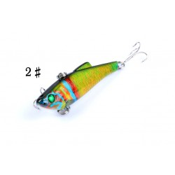 6X 4cm Popper Poppers Fishing Lure Lures Surface Tackle Fresh Saltwater
