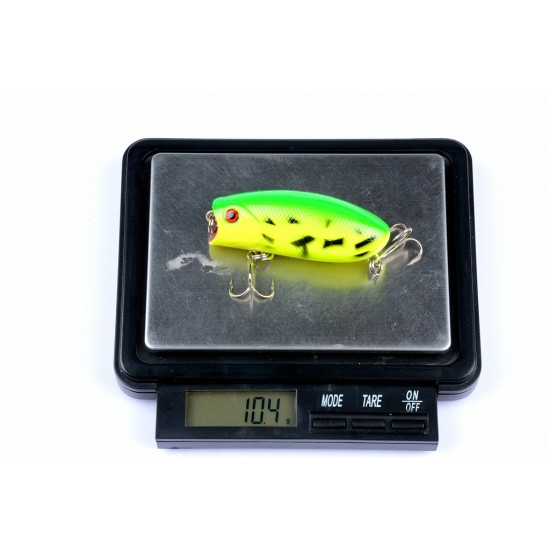 8X 6cm Popper Poppers Fishing Lure Lures Surface Tackle Fresh Saltwater