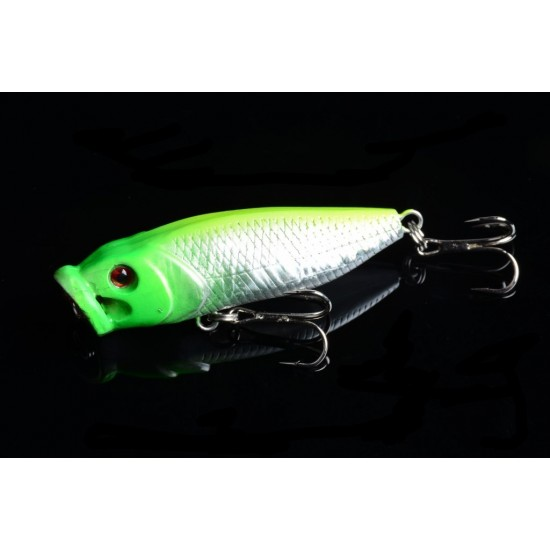 6X 6.5cm Popper Poppers Fishing Lure Lures Surface Tackle Fresh Saltwater