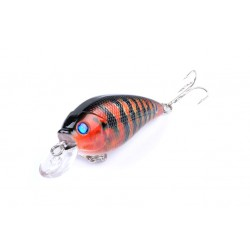 5x 7cm Popper Crank Bait Fishing Lure Lures Surface Tackle Saltwater