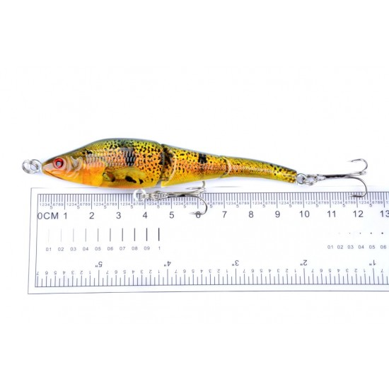 6x 9.5cm Vib Bait Fishing Lure Lures Hook Tackle Saltwater