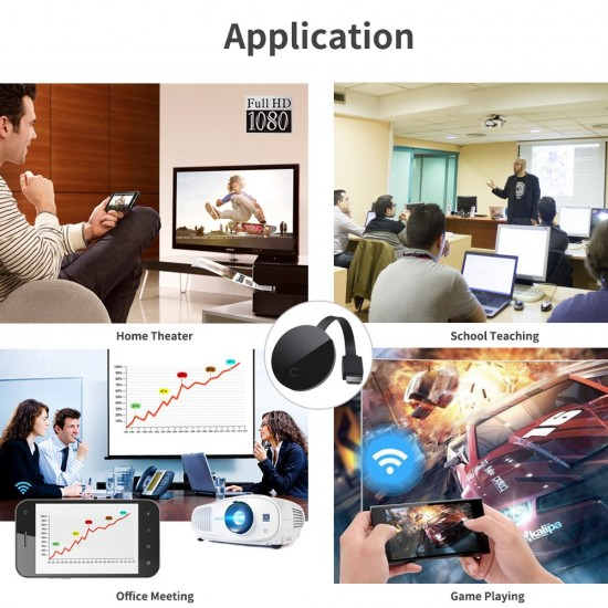 Dongle HDMI 1080P TV Receiver Adapter  Phone to TV Stick Miracast Airplay
