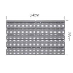 Giantz 30 Bin Wall Mounted Rack Storage Organiser