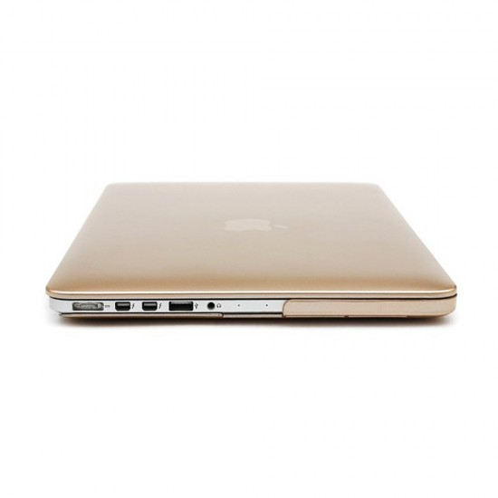 Case Shell + Keyboard cover MacBook Pro retina display - Gold