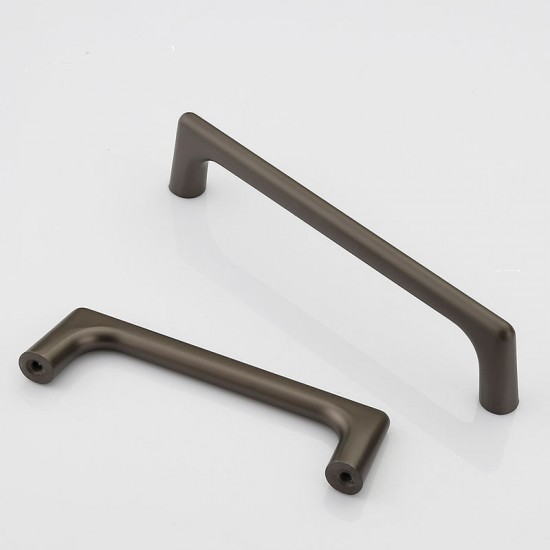 Zinc Kitchen Cabinet Handles Bar Drawer Handle Pull 96 128 192 320MM