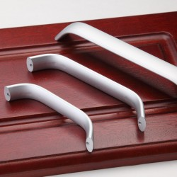 Nickel Kitchen Door Cabinet Drawer Handle Pulls 96MM 128 160 192 224MM