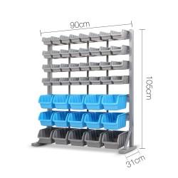 Giantz 47 Bin Storage Shelving Rack